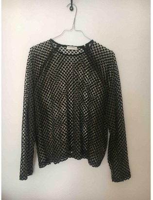Roseanna Anthracite Lace Top for Women