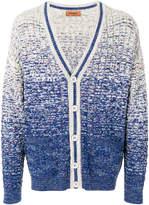 Missoni ombré pattern knit cardigan