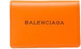 Balenciaga Navy Leather Card Case