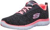 Skechers Women's Sport-Flex Appeal 2.0 Jersey with Air-Cooled Mf Running Shoe