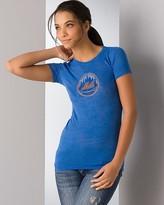 Concept Sports Embellished New York Mets Burnout Tee