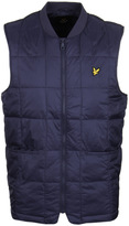 Lyle & Scott Navy Quilted Gilet