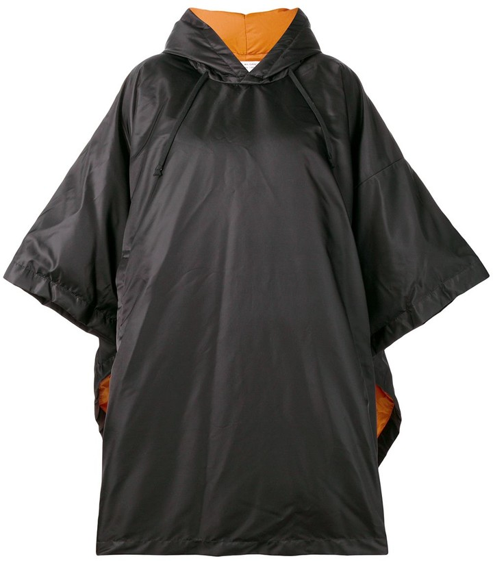 Comme des Garcons oversized padded poncho