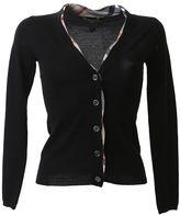 Burberry Black Wool Cardigan