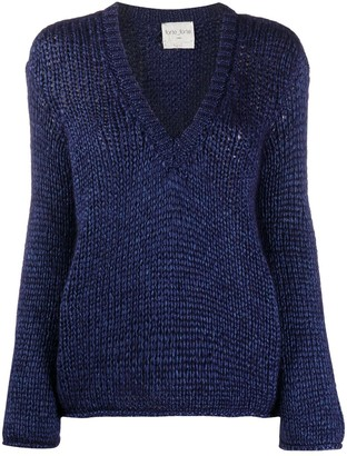 Forte Forte V-Neck Chunky Sweater