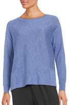 Eileen Fisher Linen Blend Pullover
