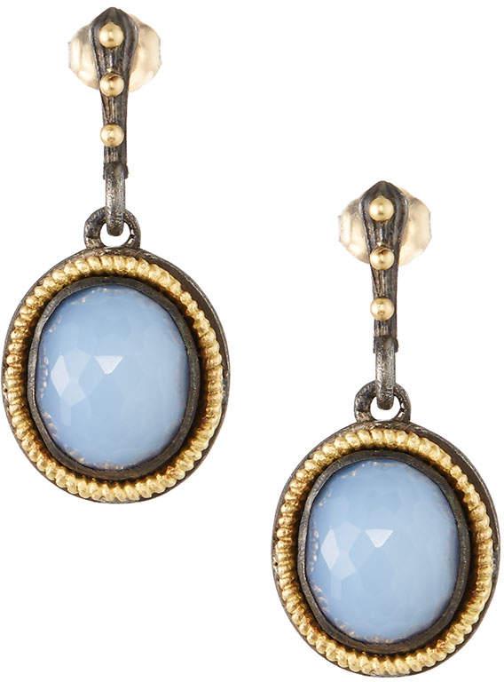 Armenta Old World Chalcedony Drop Earrings