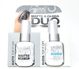 Harmony Gelish Duo Matte Top It Off and Top It Off, 1 Count