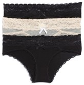 Honeydew Intimates Women's 3-Pack Hipster Panties