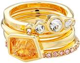 Vince Camuto Color Mixed Stone Stackable Ring