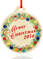 Fiesta Christmas Tree 2016 Ornament