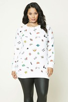 Forever 21 Plus Size Graphic Sweatshirt