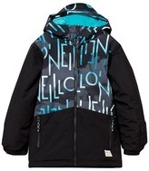 O'Neill Black Branded Performance Hubble Ski Jacket