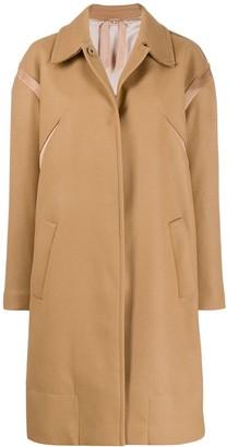 No.21 Mid-Length Single-Breasted Coat