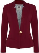 Menashion Blazer No. 500 Slim Fit Burgundy Red