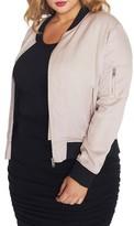 Plus Size Women's Rebel Wilson X Angels Signature Bomber Jacket