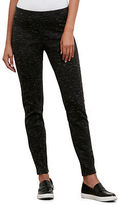 Kenneth Cole Slub Double Knit Seamed Legging
