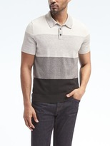 Banana Republic Colorblock Sweater Polo