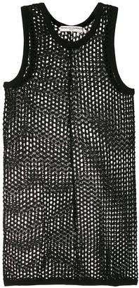 Reinaldo Lourenço Sheer Crochet Tank