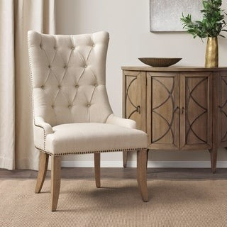 Madison Home USA Britton Cream Accent Chair