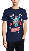 Superman Men's Christmas Hero Short Sleeve T-Shirt