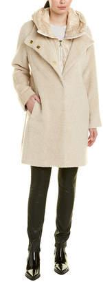 Trina Turk Autumn Alpaca & Wool-Blend Coat