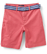 Ralph Lauren Big Boys 8-20 Suffield Belted Twill Shorts