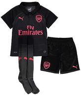 Puma Kids Arsenal Third Mini Kit 2017 2018 Shirt Shorts Socks Football