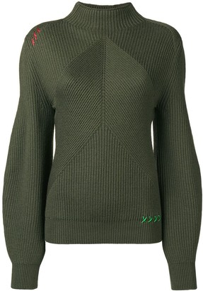 Carven Structured Knit Sweater