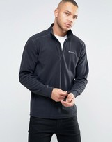 Columbia Klamath Range Ii Sweatshirt Half Zip Fleece In Black