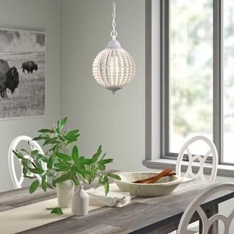 Mistana Ozias 1 - Light Single Globe Pendant