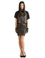 Torn By Ronny Kobo Rina Mini Skirt
