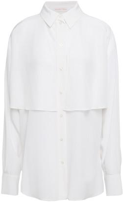 See by Chloe Layered Silk Crepe De Chine Shirt