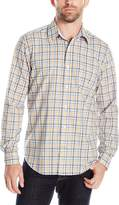 Nautica Men's Classic Fit Wrinkle Resistant Estate Plaid Shirt