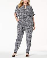 MICHAEL Michael Kors Size Printed Jumpsuit