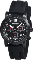 Breed Black Manning Chronograph Watch