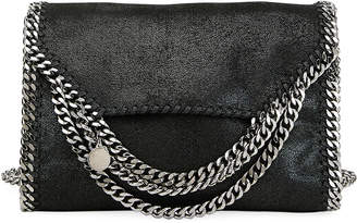 Stella McCartney Falabella Shaggy Deer Metallic Shoulder Bag