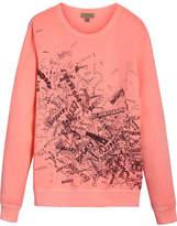Burberry doodle print sweatshirt