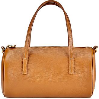 GiGi New York Gemma Mini Leather Duffle Bag