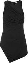 Balenciaga Gathered-side jersey tank top