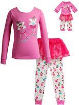 Dollie & Me Girls 4-14 Ballerina Tutu Pajama Set