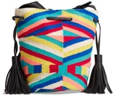 Rebecca Minkoff Wonderland Tassel Bucket Bag - Black