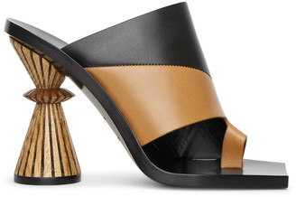 Givenchy Asymmetrical mule sandals