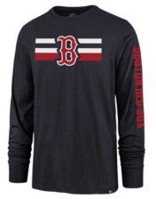 '47 Boston Red Sox Men's Cross Stripe Long Sleeve T-Shirt