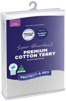 Protect A Bed Protect-A-Bed Premium Cotton Terry Pillow Protector (Each) - King Pillow