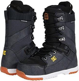DC Mutiny Lace Snowboard Boot (Grey) Men's Snow Shoes
