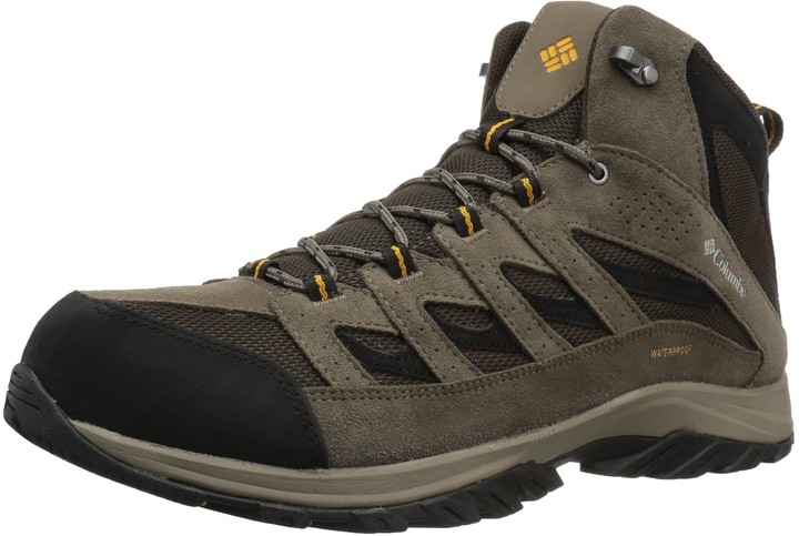 Columbia Men's Crestwood Mid Waterproof Hiking Boot Breathable High-Traction Grip 13 Regular US