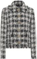 Dolce & Gabbana Metallic tweed jacket