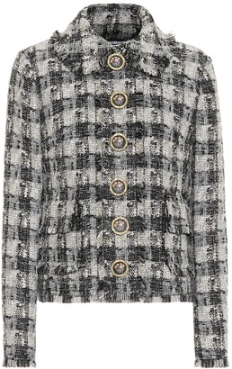 Dolce & Gabbana Metallic tweed jacket
