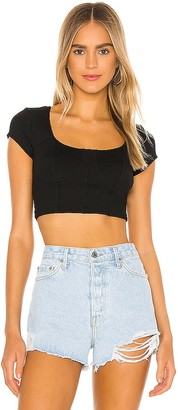 YEAR OF OURS Marilyn Ribbed Crop Top